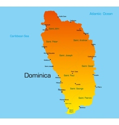 dominica vector image vector image