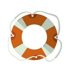 Lifeguard float icon vector