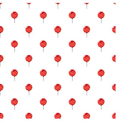 Red balloon pattern vector