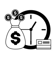 tax time payment vector image