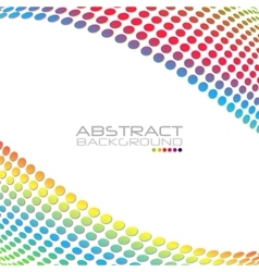 Abstract rainbow color background for your vector image vector image