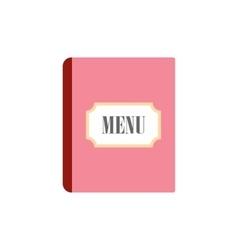 Restaurant menu flat icon vector image vector image