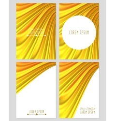 A set four covers drapery vector