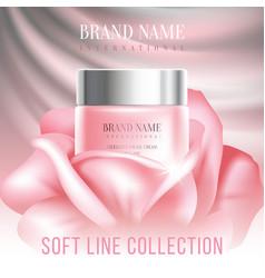 Advertising cosmetics vector