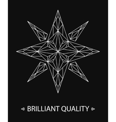 Brilliant Star Logo vector