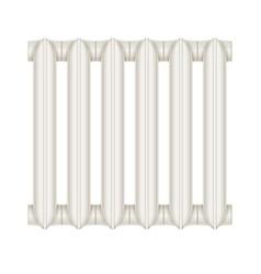 cast-iron radiator vector image