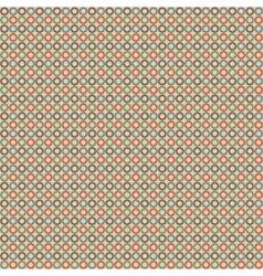 Circle vintage pattern vector