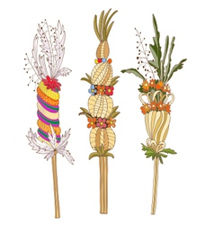 Easter Palm vector image