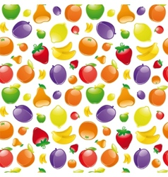 Fruit seamless pattern vector