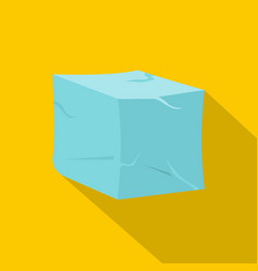 Ice icon flat style vector