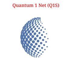 Quantum 1 net q1s logo vector