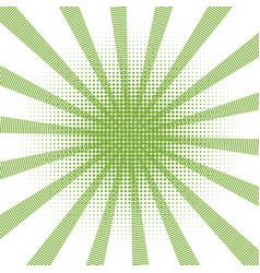 retro comic green background raster gradient vector image