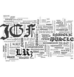 what is igf lr text word cloud concept vector image
