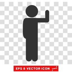 Child Vote Eps Icon vector image vector image