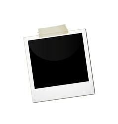polaroid business vector image