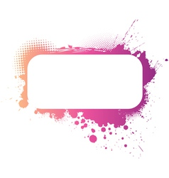 grunge colorful banner vector image vector image