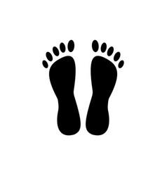 heels - pedicure icon black vector image vector image