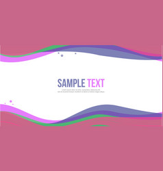 Abstract background design website header style vector