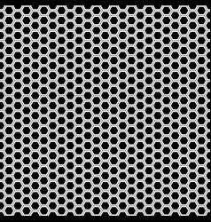 abstract monochrome hexagon mesh seamless vector image
