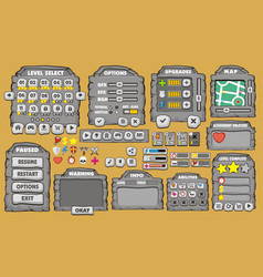 Game gui 24 vector