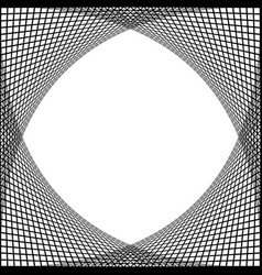 Grid frame abstract background vector