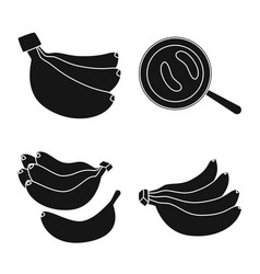 Isolated object vitamin and eating symbol set vector