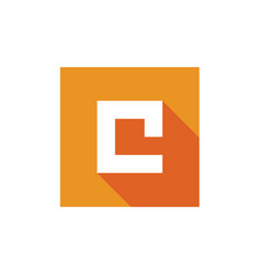 letter c logo icon design vector image