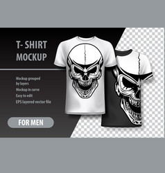 T-shirt template fully editable with vintage vector