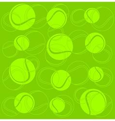 Tennis sport background vector
