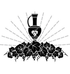 Vine symbol vector