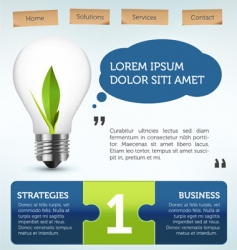 web page layout vector image