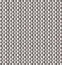 carbon fiber woven texture light vector image vector image