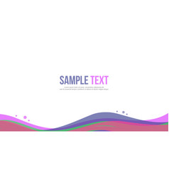 Collection abstract background design website vector