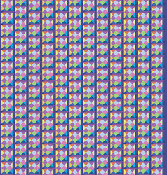 abstract seamless pattern geometric pixel stylish vector image