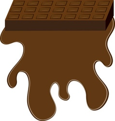 Chocolate Bar Base vector