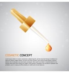 Cosmetic concept icon vector
