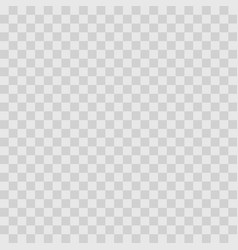 Gray checkers background empty transparent vector