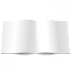 magazine spread vector image