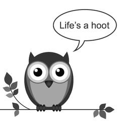 OWL HOOT vector