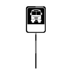 Traffic signal bus stop vector