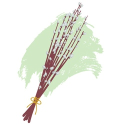Willow Branches2 vector image
