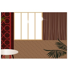 Modern home interior vector image vector image