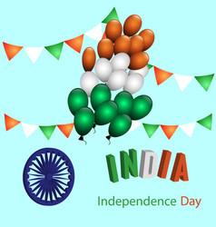 symbol of india vector image