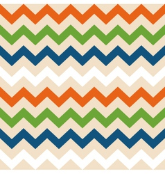 Colorful retro wave seamless pattern vector image