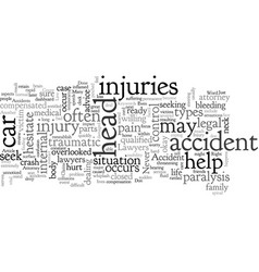 Accident injury claims done right vector