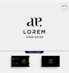 Ae e letter linked luxury premium logo vector