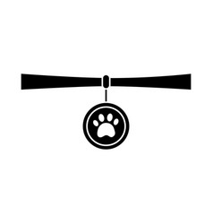 Collar pet icon image vector