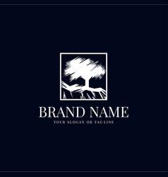 Creative oakland logo vector