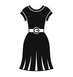 dress icon simple style vector image