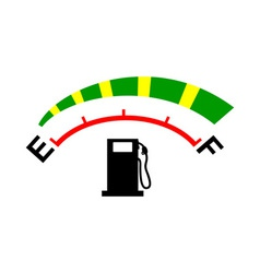Fuel gage meter vector